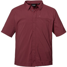 Schöffel Hohe Reuth Shirt Men, chocolate truffle